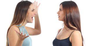 women having an arguement